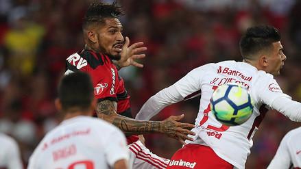 Video | Mira los goles del triunfo de Flamengo con Paolo Guerrero en cancha