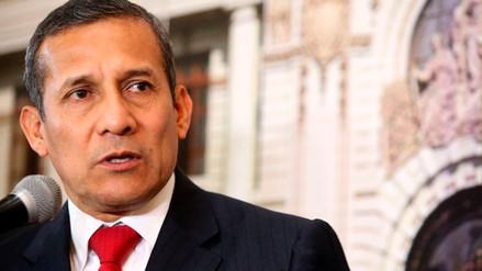 Ollanta Humala: hay inestabilidad en el Ejecutivo porque el Congreso maneja el país