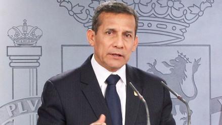 Ollanta Humala: las veces que hablé con Fujimori no tratamos de política