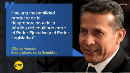 Las frases que dejó Humala en su primera entrevista luego de dejar la prisión