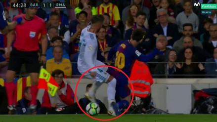 Mister Chip decepcionado de Messi tras brutal falta a Sergio Ramos