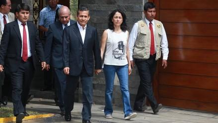 Se venció el plazo para que Humala y Heredia dejen su vivienda en Surco
