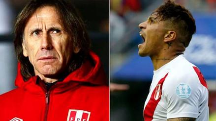 Gareca admitió temor por no contar con Guerrero para el Mundial