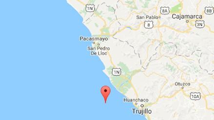 Un sismo de magnitud 4.4 sacudió Trujillo esta noche