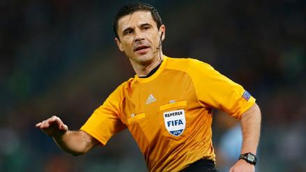 La UEFA anunció al árbitro que dirigirá la final de la Champions League