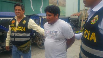 Policía captura a uno de los más buscados por extorsión en Chiclayo