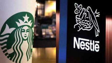 Nestlé pagará a Starbucks US$7,150 millones para vender sus productos