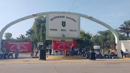 Administrativos de la UNPRG cerrarán la Universidad hasta el jueves 10 de mayo