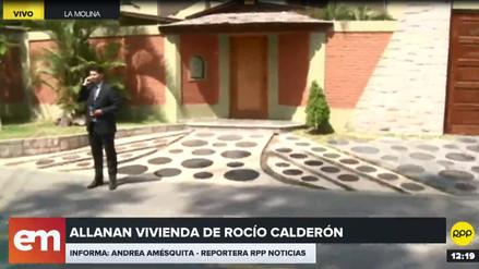 Ministerio Público incautó la vivienda de Rocío Calderón en La Molina