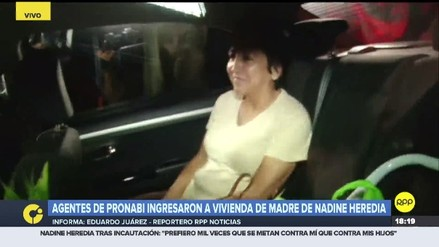 Mamá de Nadine Heredia dejó su vivienda que fue incautada por la Fiscalía