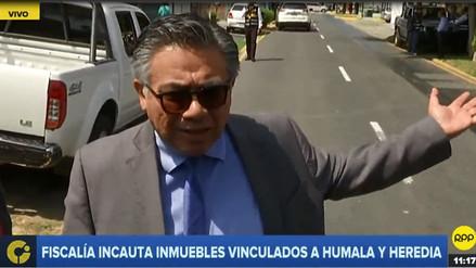 Nakazaki: Incautación de inmuebles de Humala y Heredia es una venganza del juez Concepción Carhuancho