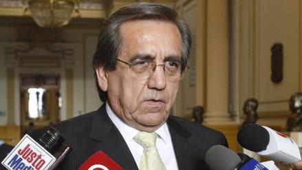 Del Castillo sobre incautaciones a Humala: