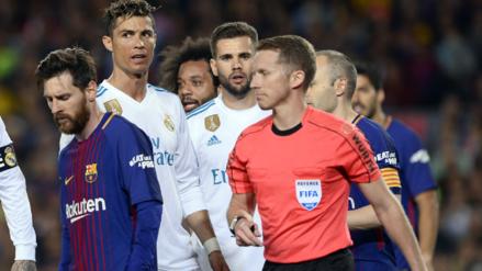 Lionel Messi 'ajustó' al árbitro del Clásico y esta fue la respuesta del Real Madrid