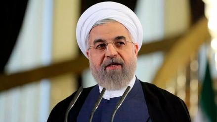 Presidente de Irán advierte que reanudarán su programa nuclear