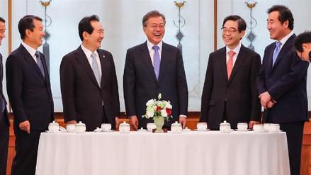 Moon Jae-in destacó el