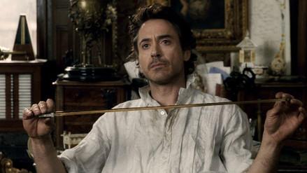 "Robert Downey Jr. se prepara para ""Sherlock Holmes 3"""