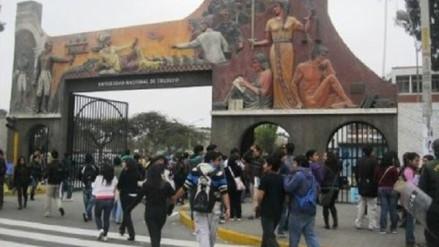Estudiantes de UNT de Otuzco y Virú se trasladan a Trujillo tras cierre de filiales