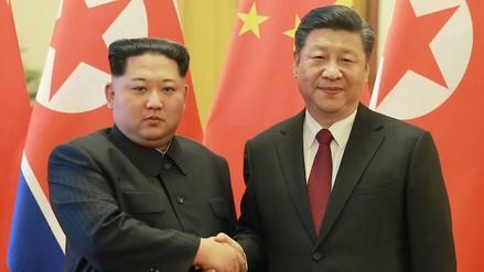 El presidente de China volvió a reunirse con el líder de Corea del Norte