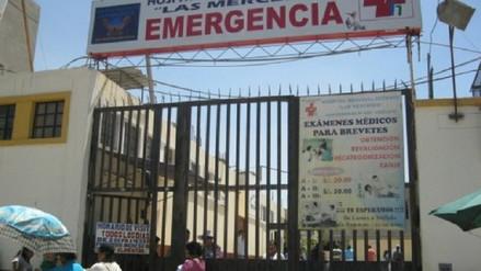 Enfermera fallece luego de dar a luz a mellizos en el hospital Las Mercedes
