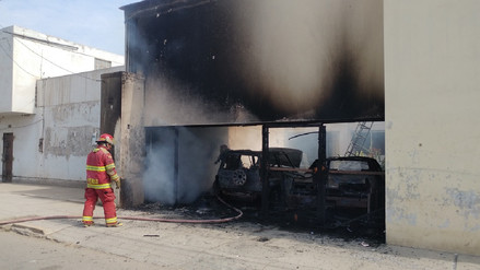 Chiclayo: incendio en vivienda dejó cuantiosos daños materiales