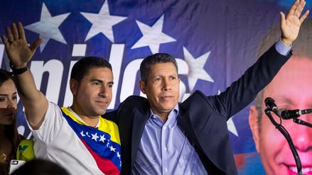 Candidatos opositores sellan alianza contra Maduro a doce días de elecciones