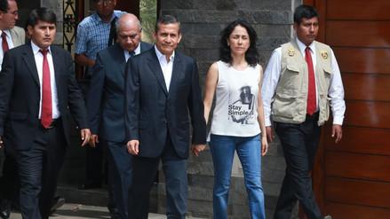 Humala y Heredia podrán regresar a su casa tras suspensión de desposesión del inmueble