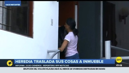 Familia Humala-Heredia se trasladó a su nueva vivienda