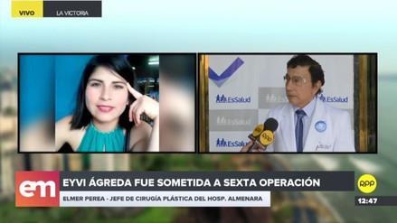 Eyvi Liset Ágreda ya no está sedada y volvió a hablar, informó médico