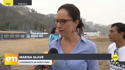 """Marisa Glave sobre medidas contra Humala y Heredia: """"Pareciera que es un ensañamiento"""""""