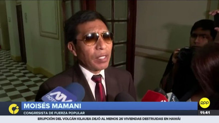 Mamani dijo que prestó su reloj a Modesto Figueroa para que grabe conversaciones