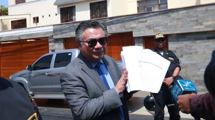 Nakazaki espera que pedido de recusación contra Concepción Carhuancho se resuelva esta semana