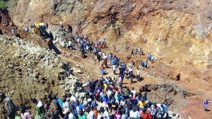 Seis mineros atrapados tras derrumbe de una mina de oro en Kenia