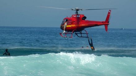Un muerto y tres heridos tras caída de helicóptero frente a playas de Río de Janeiro