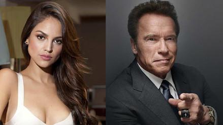 La actriz Eiza González grabará película de acción con Arnold Schwarzenegger