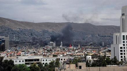 Al menos 71 militares y yihadistas murieron en choques en el sur de Damasco