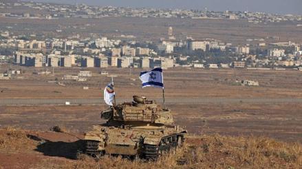 Israel acusa a Irán de un ataque a sus bases militares en los Altos del Golán
