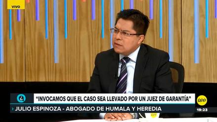 Defensa de Humala dijo que recusación contra Concepción Carhuancho no es personal