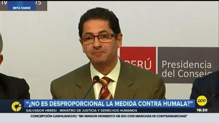 Heresi sobre alquiler de casa a Humala: