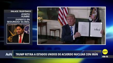 """Experto en seguridad: """"El acuerdo nuclear con Irán estaba mal hecho"""""""