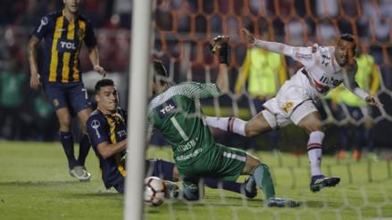 Mira el gol que clasificó a Sao Paulo a la otra fase de la Copa Sudamericana