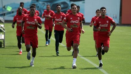 Con 12 futbolistas, la Selección Peruana empezó su preparación a Rusia 2018