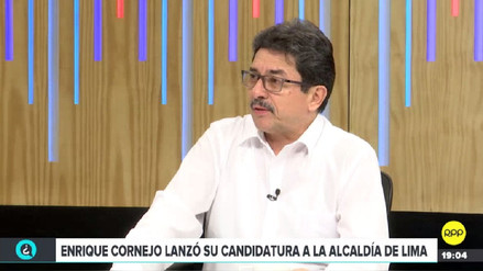 Cornejo denuncia trabas políticas y electorales para inscribir a su movimiento