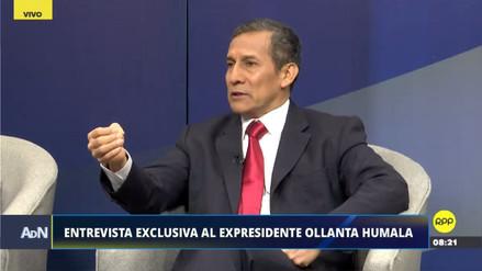 """Ollanta Humala: """"Hemos cumplido la ley, por más que sea abusiva"""""""