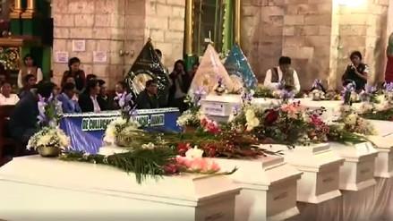 La fiscalía entregó los restos de 22 víctimas de la violencia armada en Ayacucho