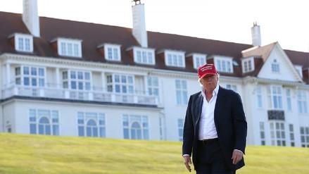 Escoceses enojados con Trump por prohibir refresco local en su club de golf de Turnberry