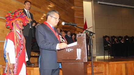 Presidente de la Corte Superior de Justicia de Arequipa pide severidad en caso de juez detenido por soborno