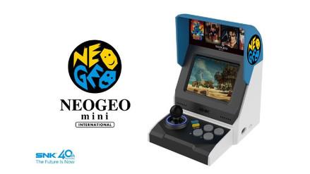 SNK anunció la Neo Geo Mini, pequeña consola con 40 de sus videojuegos clásicos
