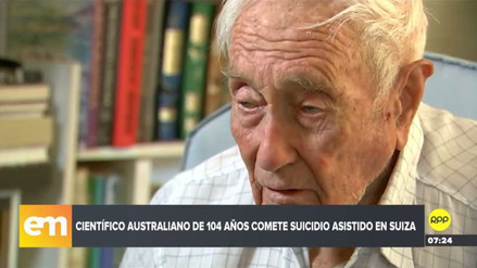 David Goodall se sometió a un suicidio asistido en Suiza