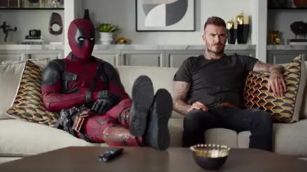 Deadpool le pide disculpas a David Beckham en nuevo video promocional