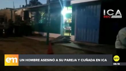 Un hombre mató a su pareja, a su cuñada y, luego, se suicidó en Ica